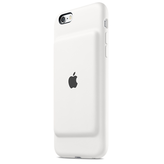 iPhone 6s Smart Battery Case White