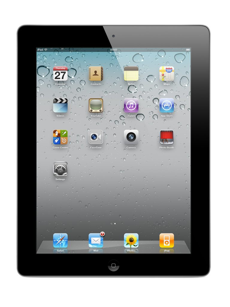 iPad 2 16GB Wi-Fi- שחור