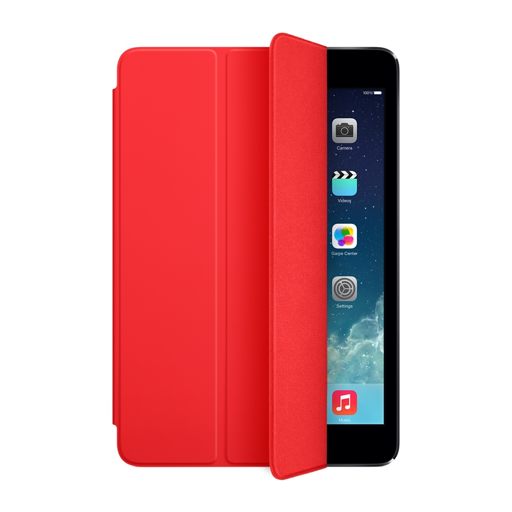 כיסוי iPad Air Smart Cover-אדום