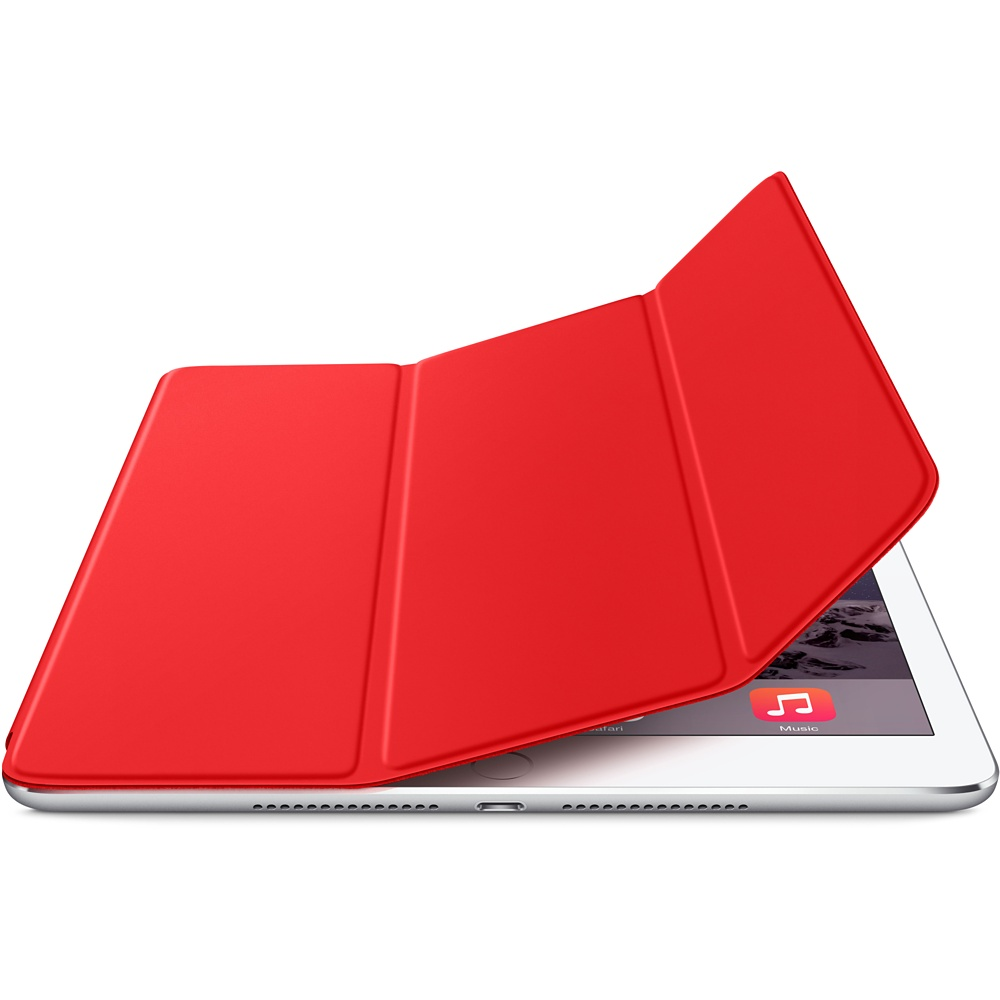 כיסוי iPad Air 2 Smart Cover- אדום