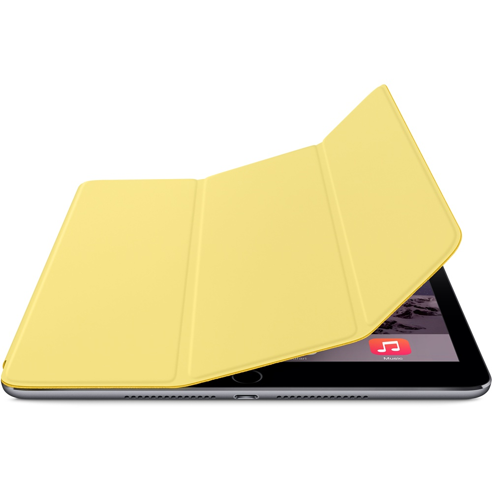 כיסוי iPad Air 2 Smart Cover- צהוב