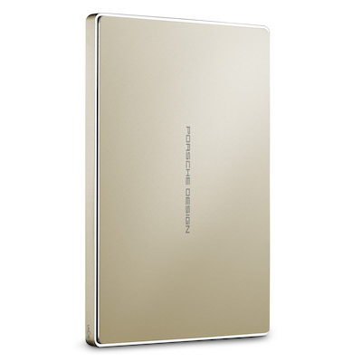 כונן LACIE Porsche Mobile - 2Tb Type C - Gold